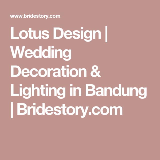 Lotus design wedding decoration lighting in bandung lotus design wedding decoration lighting in bandung bridestory junglespirit Gallery