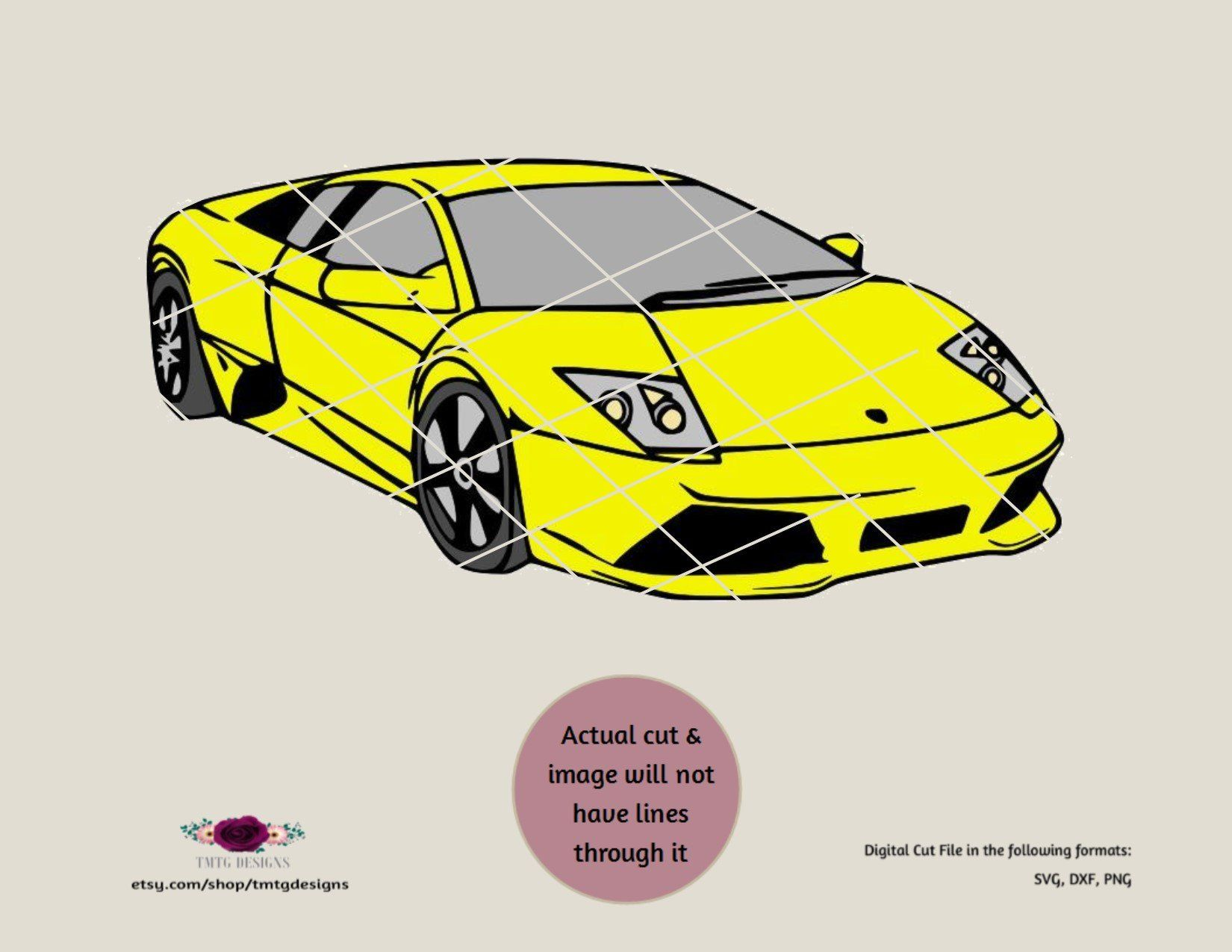 Lamborghini Svg Sports Car Svg Cars Trucks Svg Svg Clipart Dfx