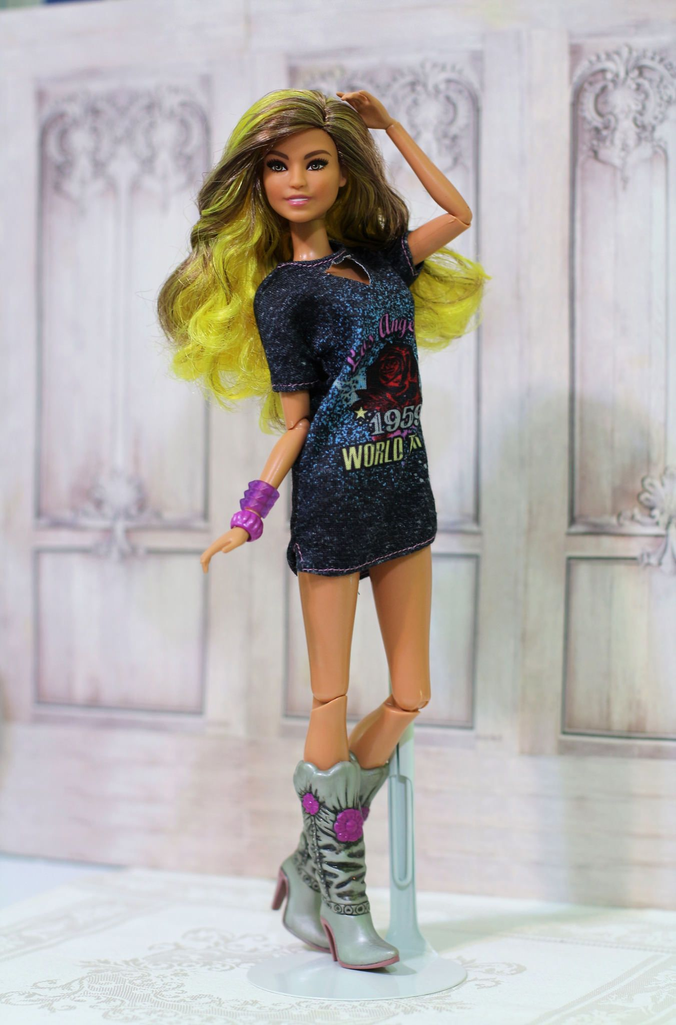 Rockstar Glam Fashionista Barbie Fashionista Dolls Barbie Fashionista Barbie Clothes