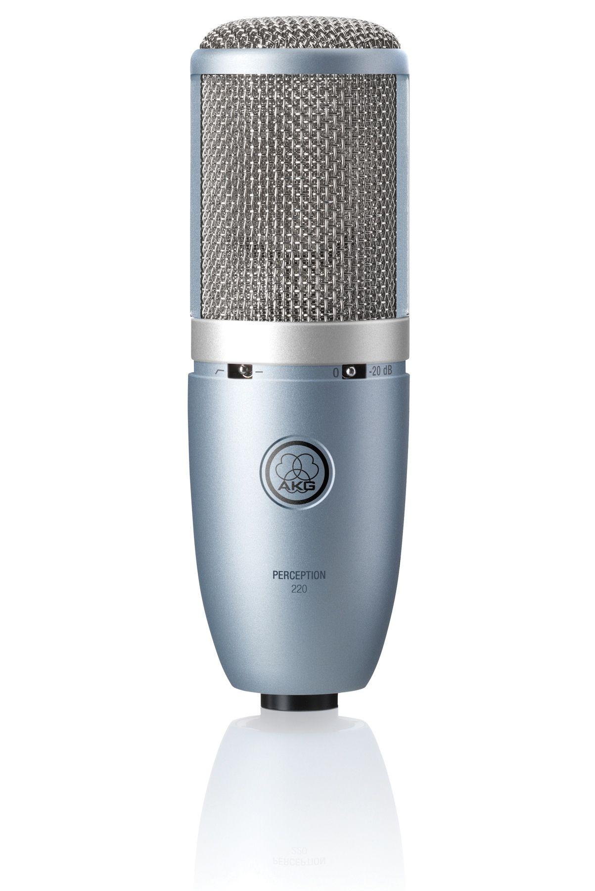 AKG P220 Large Diaphragm Condenser Microphone