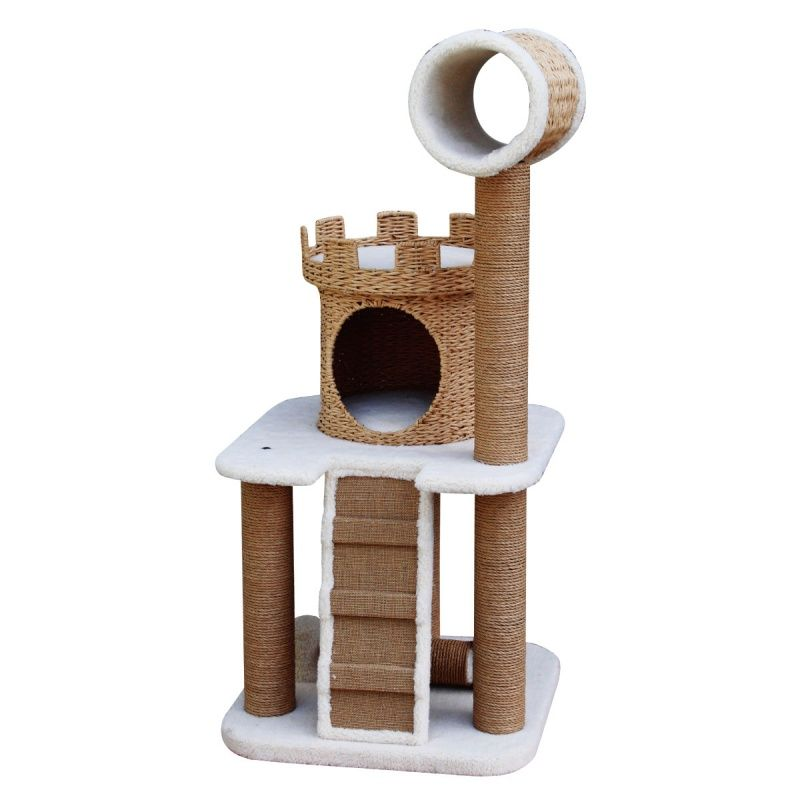 Pet Pals Cat Tree With Condo, Nest, Ladder U0026 Tunnel Cat Furniture At .