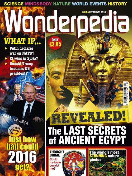 Wonderpedia February 2016 February 2016 February Comic Book Cover