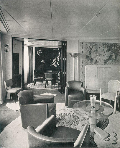 Art Deco Interior Inspiration Saloon Art Deco Interior Art