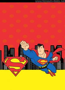 Kit Festa Superman Tag Lembrancinhas Super Homem