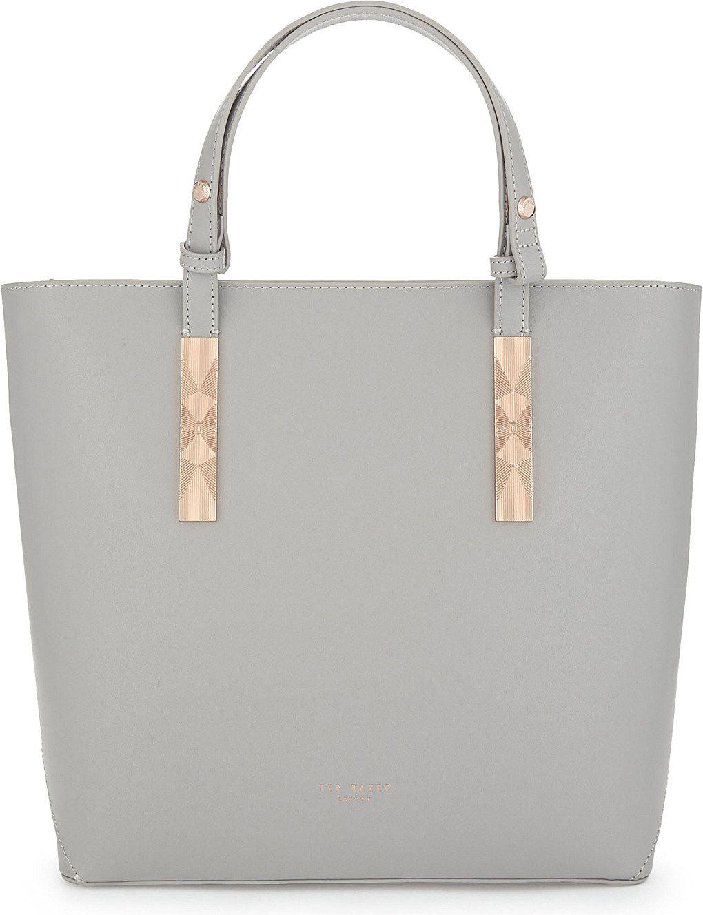 9b7c07e334792e TED BAKER Jaceyy leather shopper bag