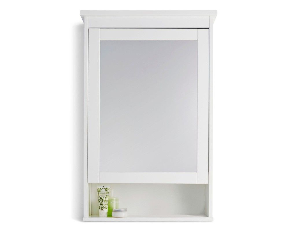 bathroom wall cabinets ikea from White Mirrored Bathroom Cabinets ...