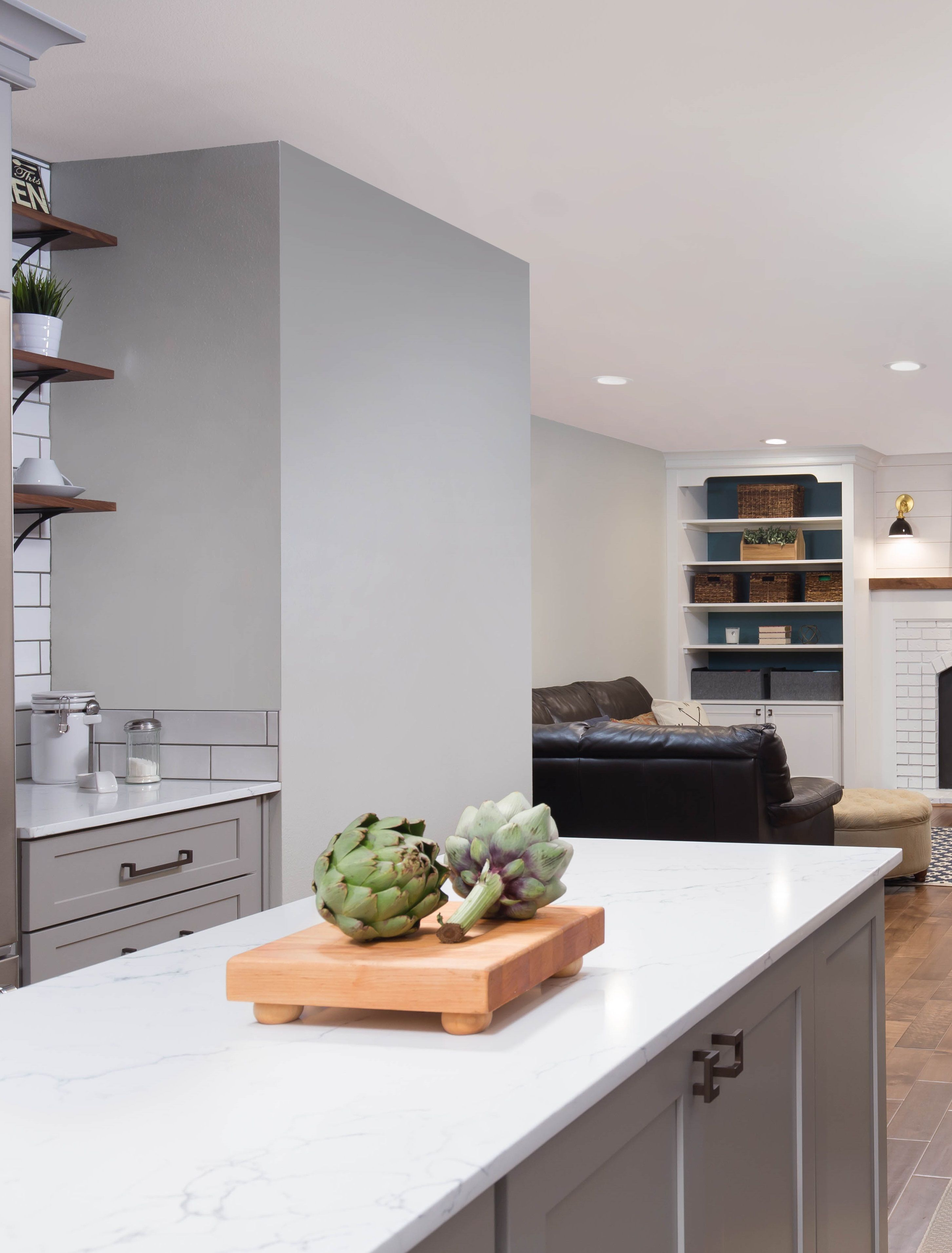 Today on the blog we\'ve got a sleek kitchen remodel by Chuckanut ...