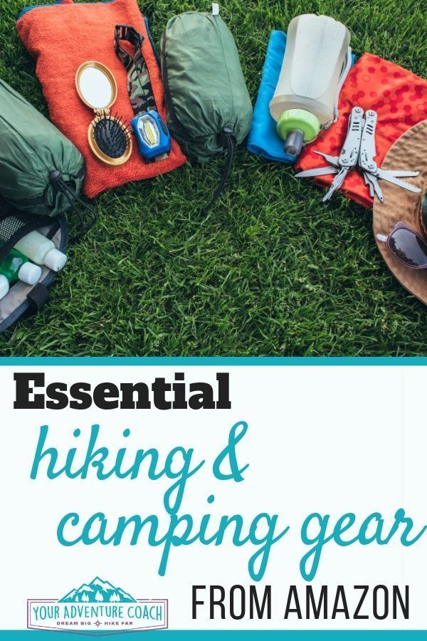 Photo of Your adventure trainer must have hiking and camping equipment
