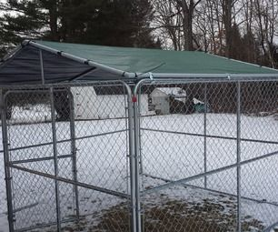 Winterproof Your Dog Kennel Dog Kennel Outdoor Dog Kennel Dog Kennel Roof