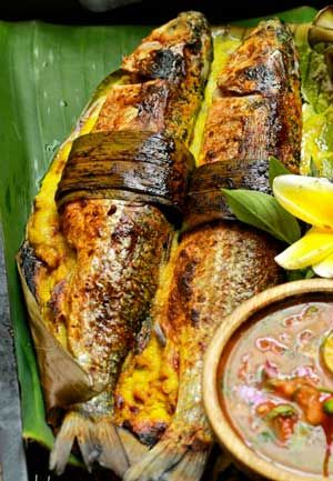 Resep Ikan Bumbu Rujak : resep, bumbu, rujak, Resep, Panggang, Belanak, Bumbu, Rujak, Malaysian, Food,, Yummy, Seafood,, Cuisine