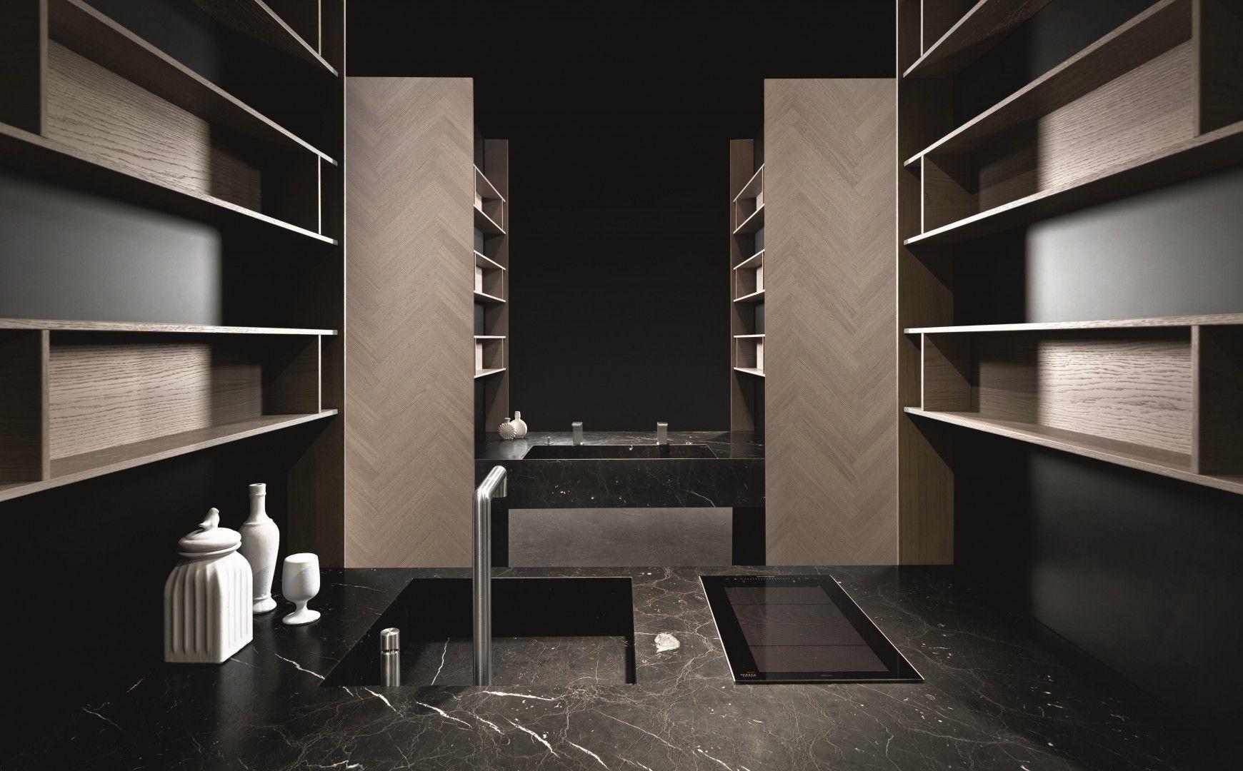 cucine-moderne-di-design-BINOVA-MANTIS-Milano-Via-Durini | Kitchen ...