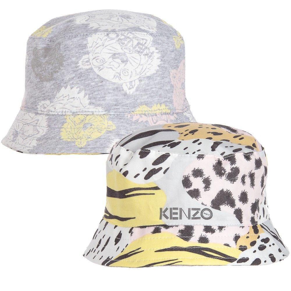 48fdcfac Kenzo - Baby Girls Reversible Animal Print Sun Hat | | 2童装 | Hats ...