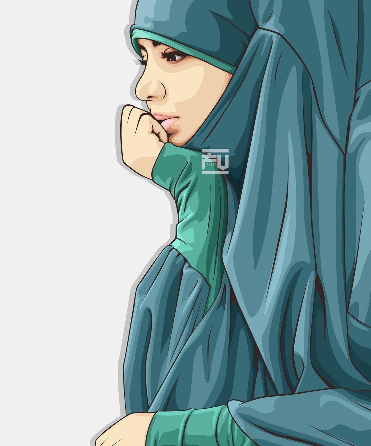 Ide Oleh Ronista Alvinia Pada Muslimah Art