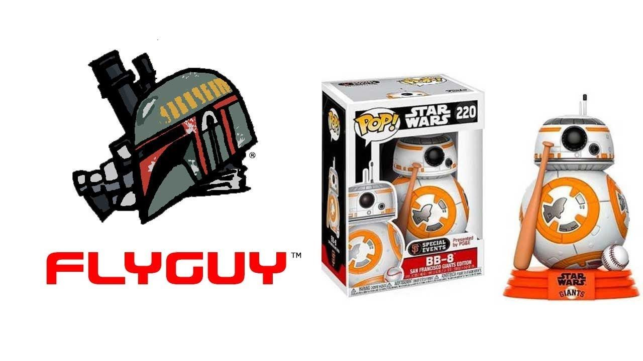 Funko Pop Star Wars Bb 8 San Francisco Giants Edition Toy Action Figure Review By Flyguy Https Yout Funko Pop Star Wars Action Figures Action Figures Toys