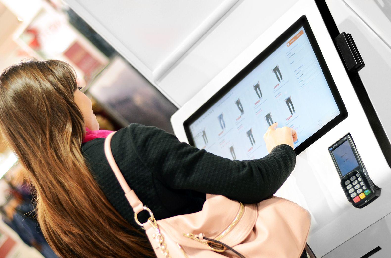 Debenhams kiosk interactive kiosk | Diseño De Muebles | Pinterest ...