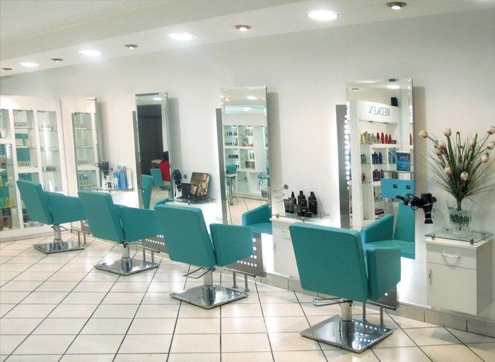 Resultado de imagen para peinadoras modernas con luces peluqueria pinterest moderno luces - Ideas para decorar una peluqueria ...