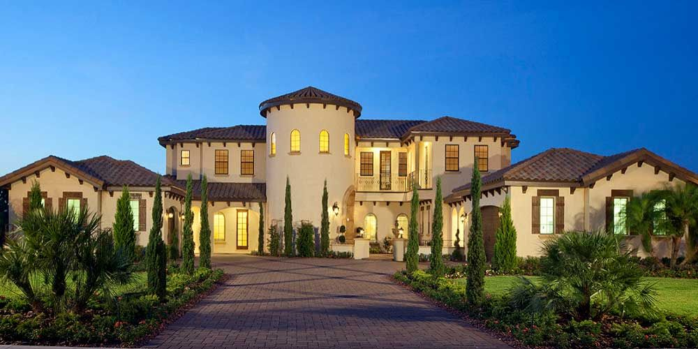 Spanish style luxury homes google search spanish style for Houston home designers
