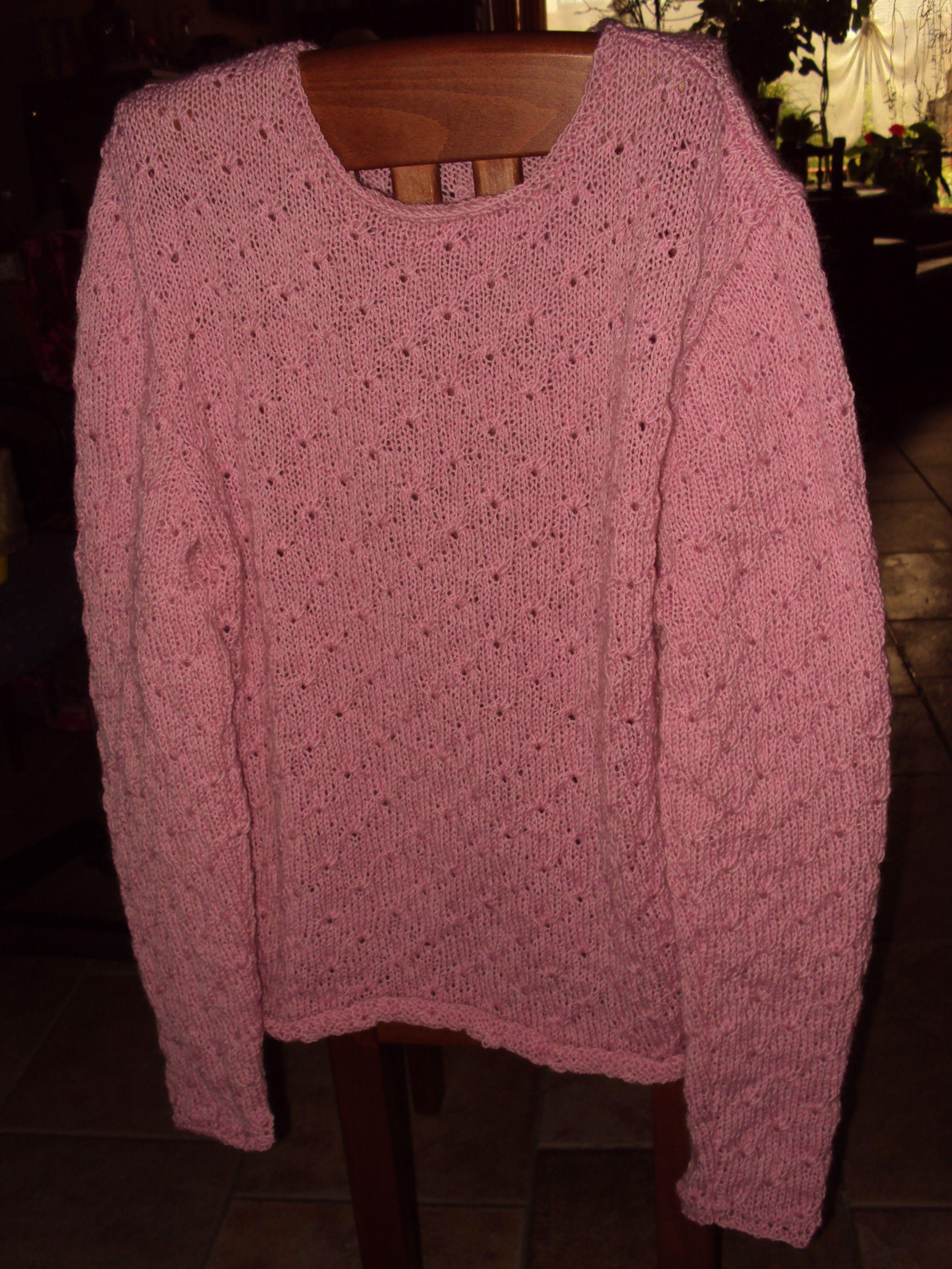 Roze Wollen Trui.Roze Wollen Trui Voor Mijn Zus Marijke 14 10 2014 Brei En Haak