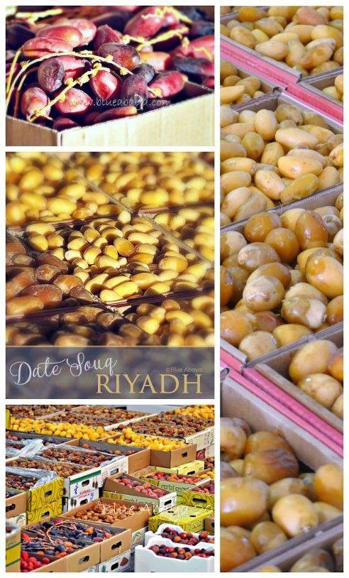 Visit Riyadh's Date Souk | Blue Abaya Blogs | Riyadh saudi