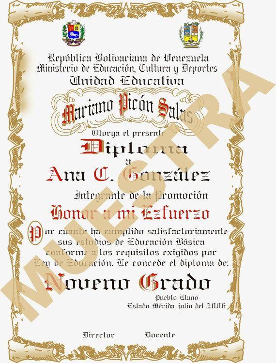 Plantillas Para Diplomas Redibujadas En Coreldraw con por eliepoxis ...
