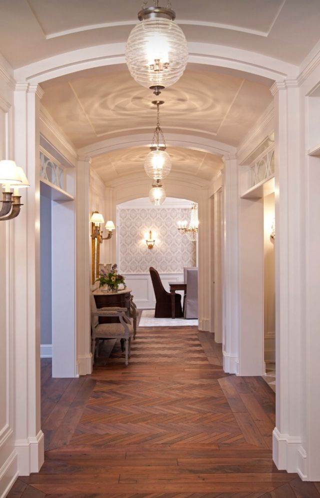 Luxury HallwaysHouzz  floors  walls  Home decor Home