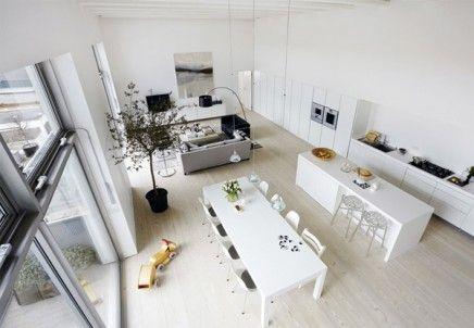 loft interieur 7 | Interiors | Pinterest | Interiors, Living rooms ...