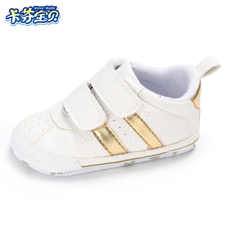 Marron-Hiver Bébé Nouveau Chaussures Loisirs Fond mou Velcro Chaussures de bébé en bas âge nbBtzPtKJ