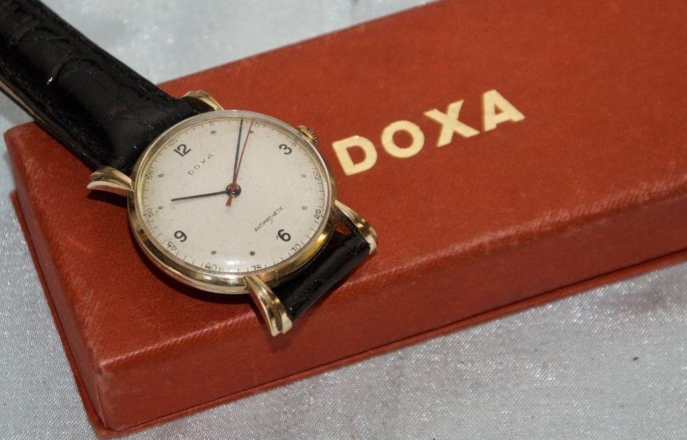 very fine classic vintage 14k gold doxa 17j fancy lugs wind up rh pinterest com how many times to wind mechanical watch how many times to wind a manual watch