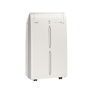 Sharp 10 000 Btu Portable Air Conditioner By Sharp 399 99 Plasmacluster Ion Technology Help Reduce Odors In The Room De