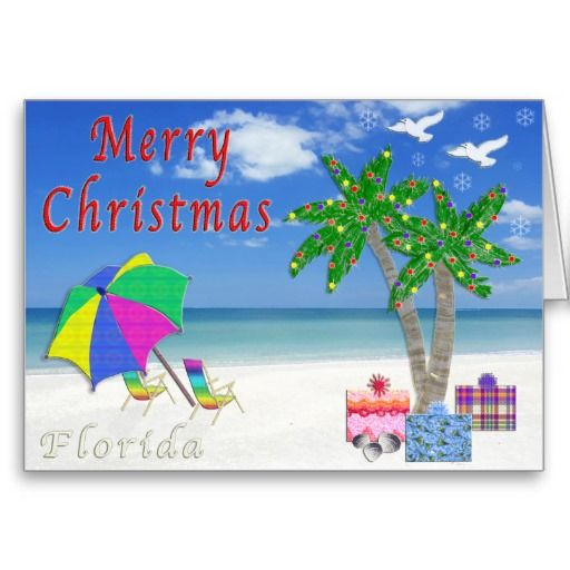florida christmas cards beach themed beach themed christmas card from florida beach christmas cards and gifts to view all of my original designs for - Beach Themed Christmas Cards
