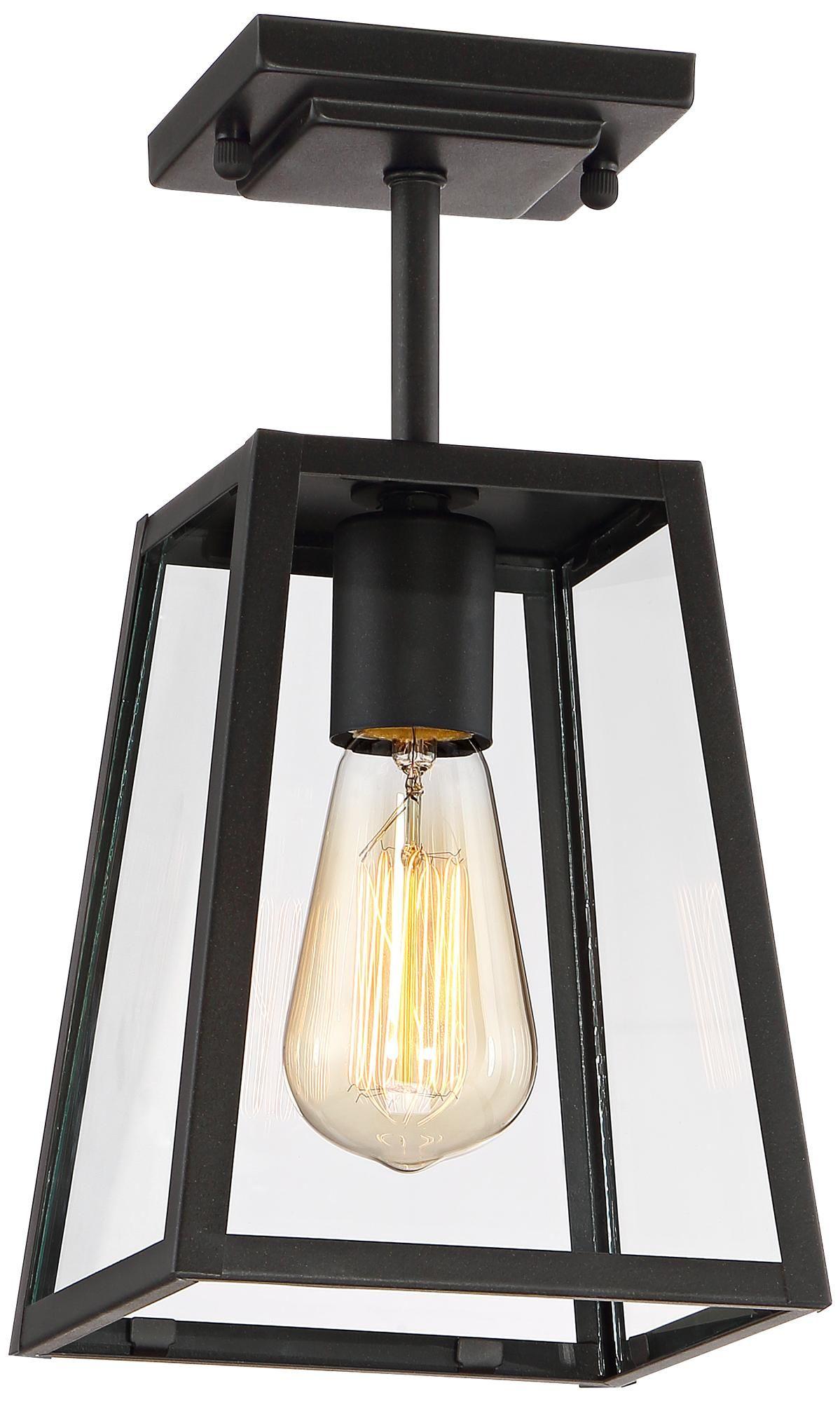 Arrington 6 Wide Mystic Black Outdoor Ceiling Light 1n481 Lamps Plus In 2021 Ceiling Lights Outdoor Ceiling Lights Modern Outdoor Ceiling Light