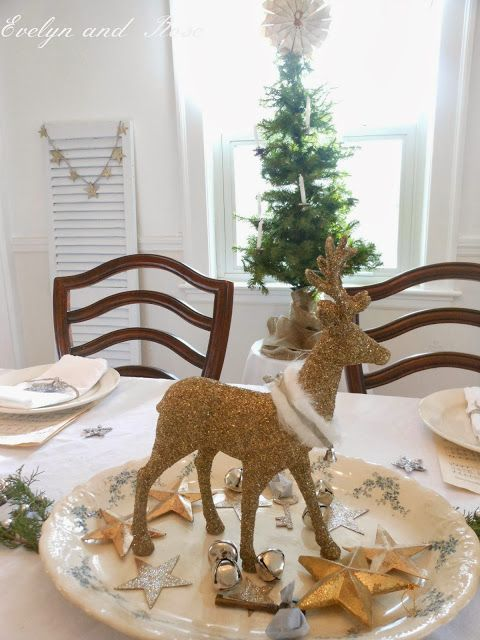 Evelyn and Rose: 2013 Tour - Nordic Christmas Dining Room