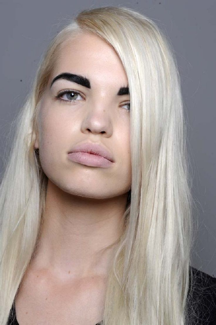 Top 10 Eyebrow Mistakes You Shouldn T Make Blonde Hair Dark Eyebrows Dark Eyebrows Blonde Eyebrows
