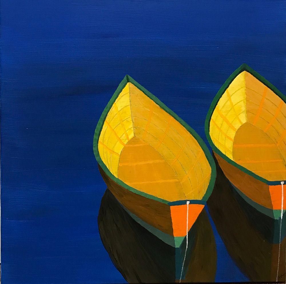 Contrasts painting art original paintings