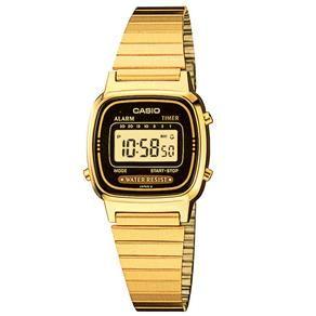 a7d17de3f48 Relógio Feminino Digital Casio LA670WGA1DF - Dourado