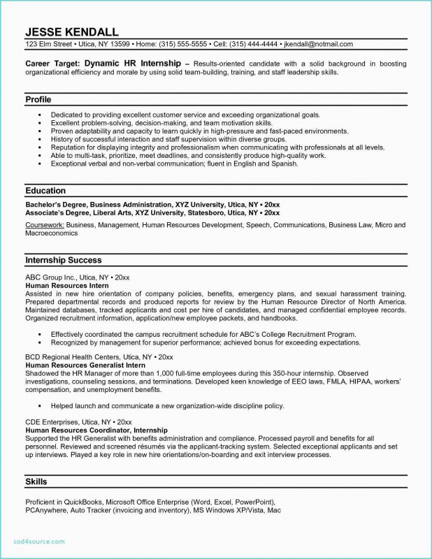 Sales Representative Report Template Unique Hr Letters To Employees Inspirational New Employee Board In 2020 Internship Resume Functional Resume Human Resources Resume
