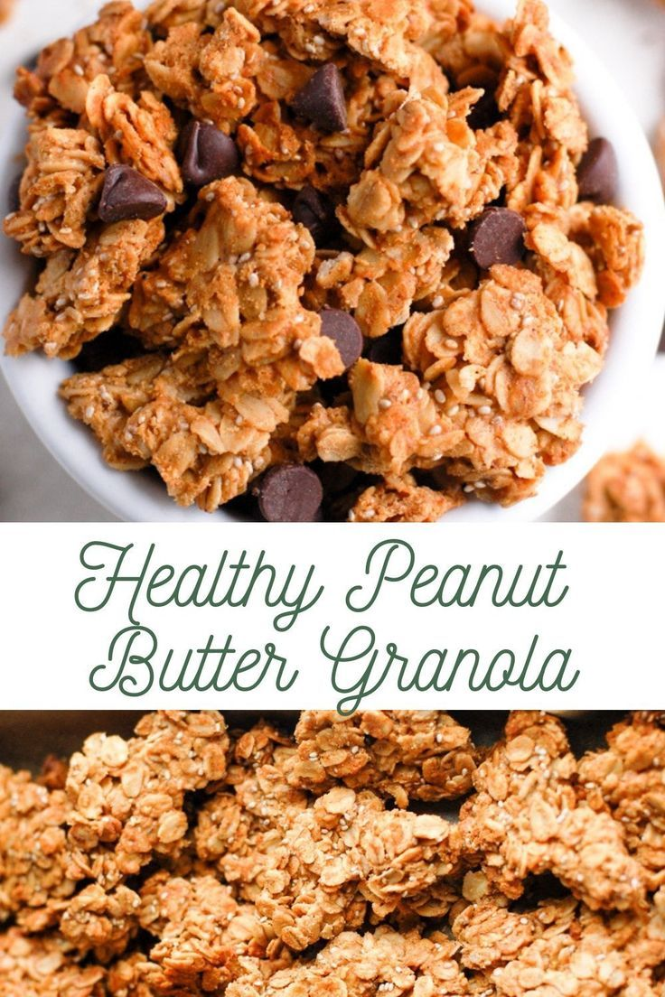 Photo of Healthy Peanut Butter Granola | Erin Lives Whole