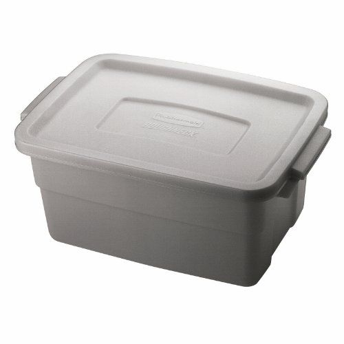 Rubbermaid Fg221300steel Roughneck Storage Container Box Polyethylene 3 Gallon Pack Of 12 You Can Get More Det Corner Tub Shower Combo Tote Storage Storage
