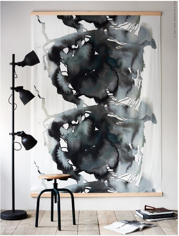 Brilliant Ikea Hacks For Big Blank Walls Art Ikea Art Big Wall