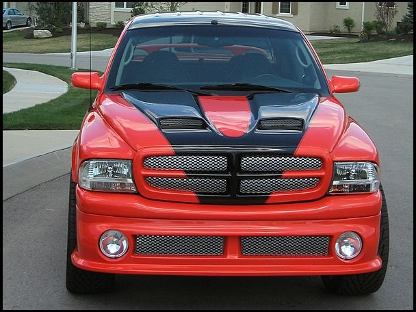 One Of A Kind Custom Built 2001 Dodge Dakota Pickup