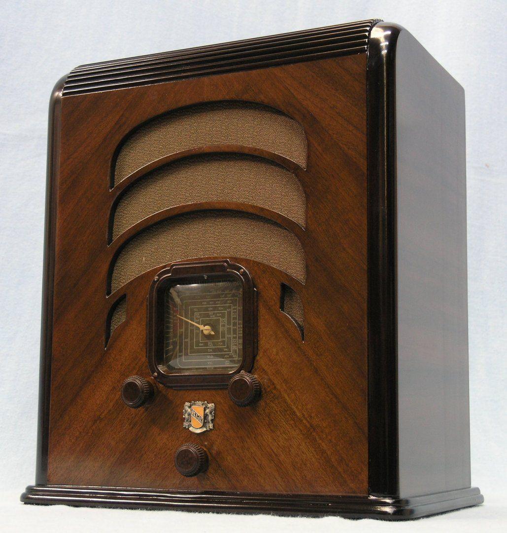1936 Lekmek Radio Made In Australia Antique Radio Vintage