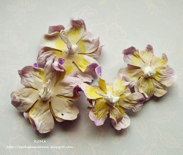 Paper Passion Kurs Obrazkowy Na Kwiatki W Typie Gardenii Z Papieru Czerpanego Flower Crafts Paper Flowers Crafts