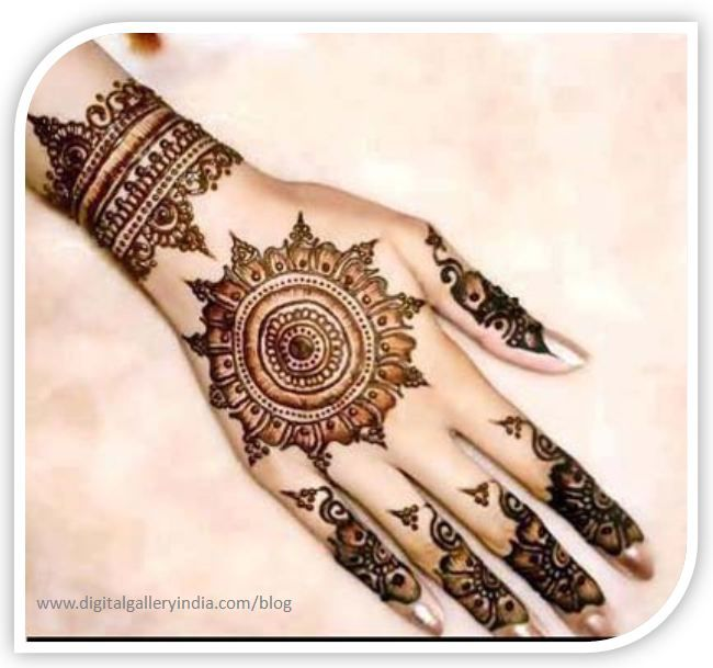 Mehndi Bracelet Design For Kids : Henna designs bracelet makedes