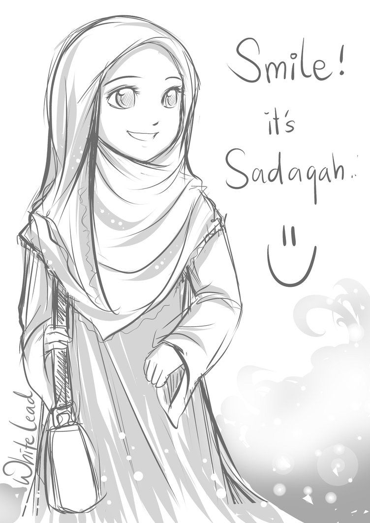 Smile Sadaqah by whitelead on DeviantArt A. muslim