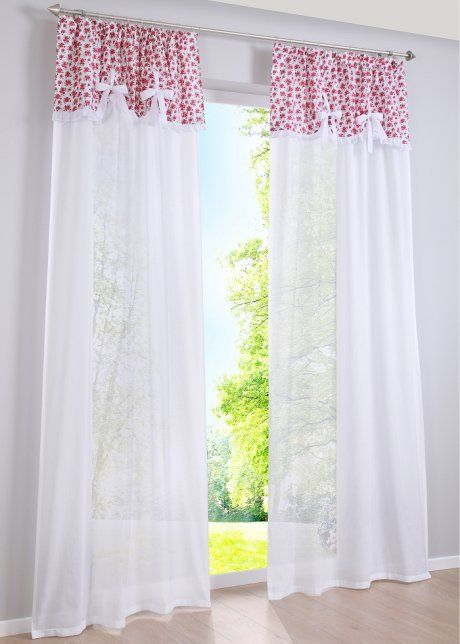 gardine betty 1er pack bpc living wei rosa curtains pinterest bpc living gardinen. Black Bedroom Furniture Sets. Home Design Ideas