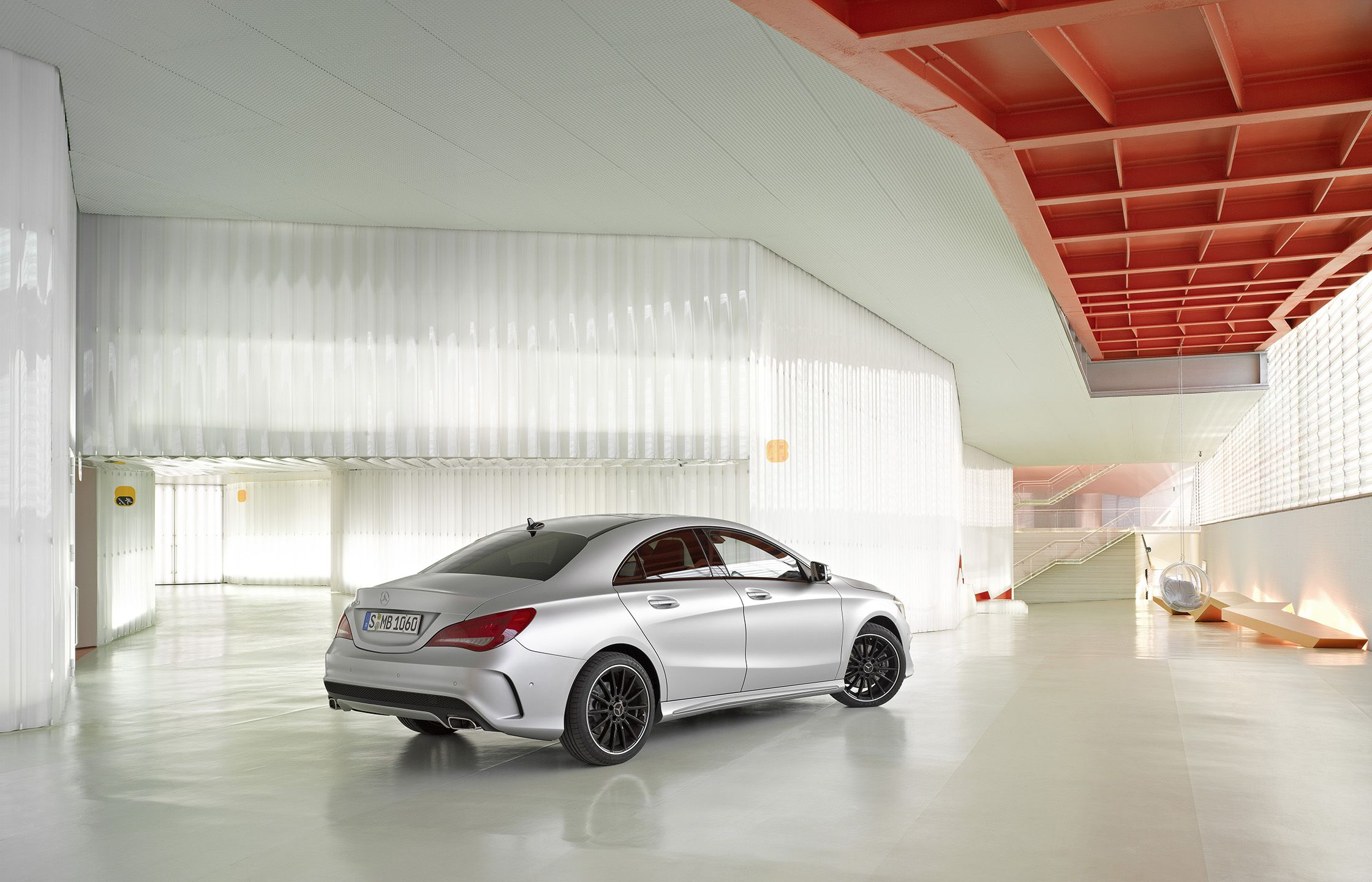 The new Mercedes Benz CLA marries progressive design with innovative
