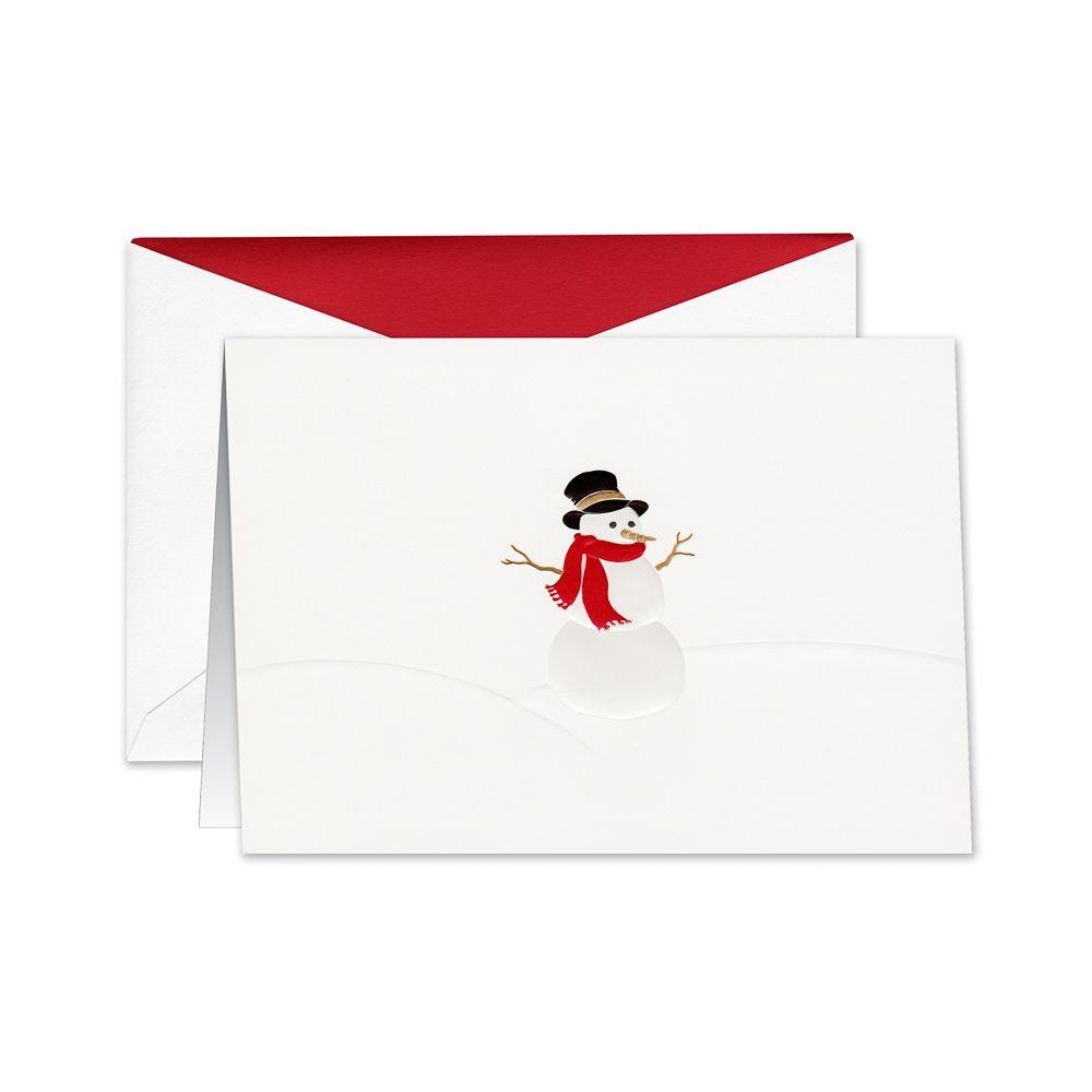 Snowman boxed holiday greeting cards holiday cards pinterest snowman boxed holiday greeting cards kristyandbryce Choice Image
