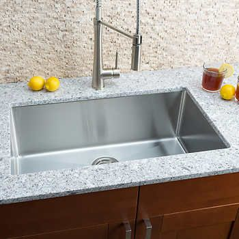 Hahn Chef Series Handmade Large Single Bowl Sink Single Bowl