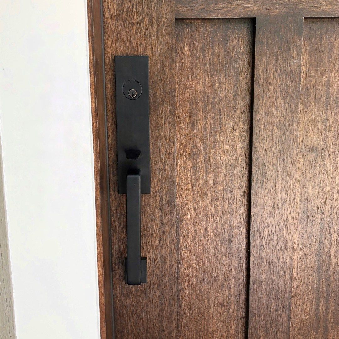 Our New Front Door Front Door Hardware Front Door Handles Craftsman Style Doors