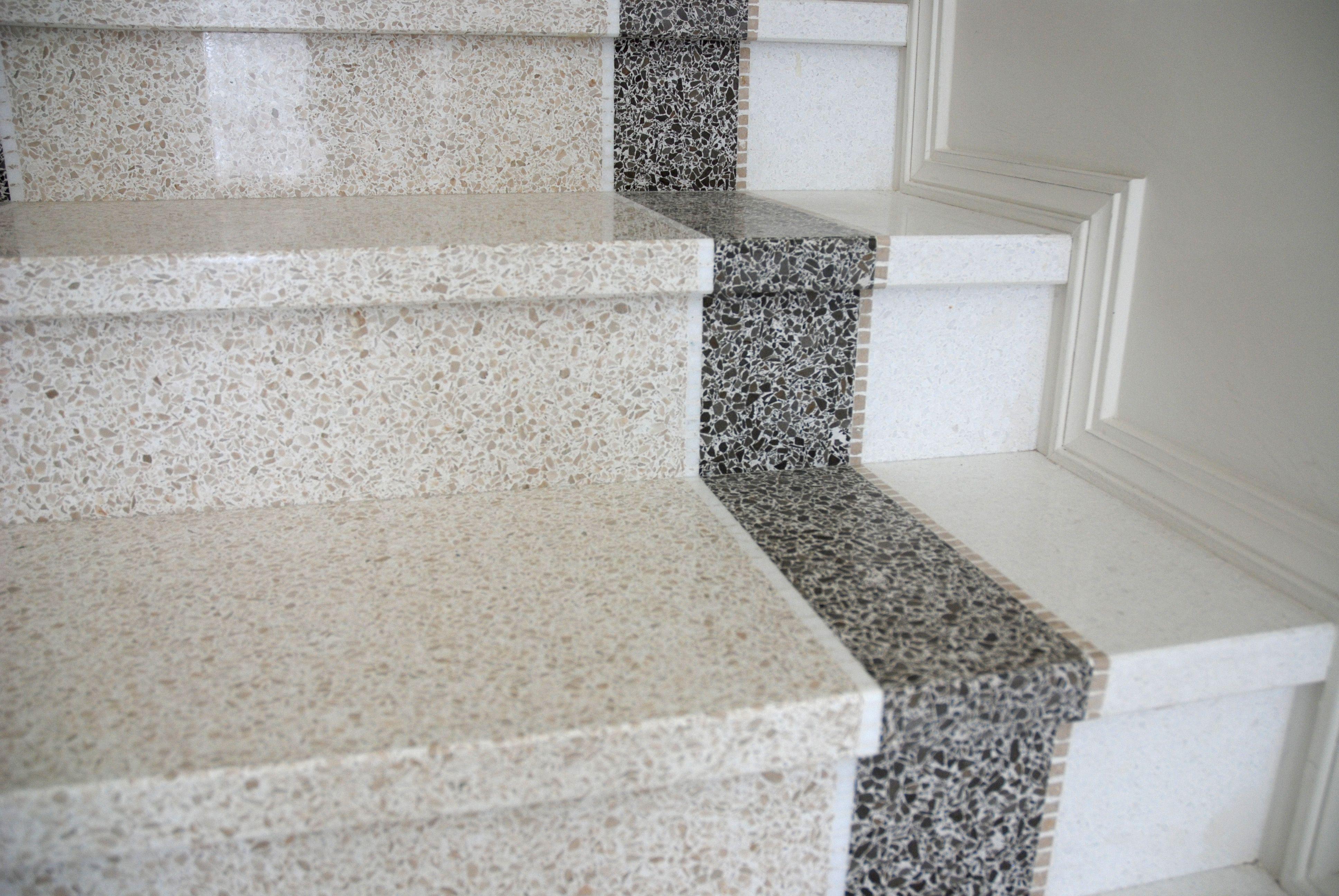 Scale In Terrazzo Stairs Steps Scale Cancianpavimenti